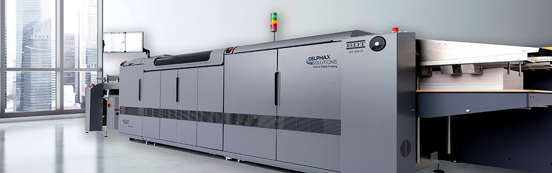 Delphax Solutions, Inc. to Exhibit All-New Elan 500 HD Color Inkjet Press at Graphics Canada 2019 (Apr 11-13)