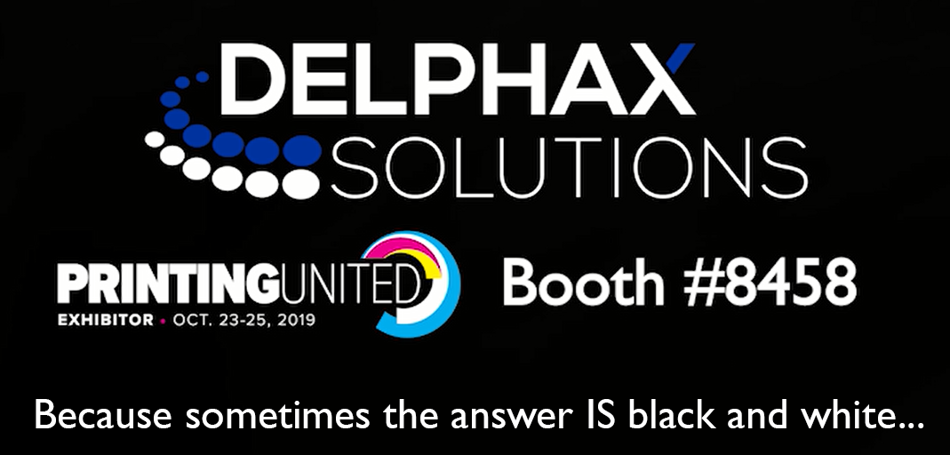 Delphax Solutions Inc. to Exhibit at PRINTING United 2019